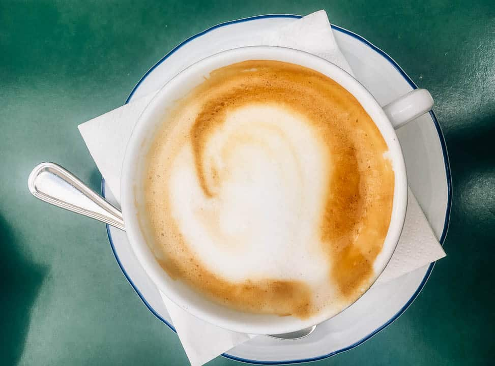 cappuccino - best coffee to drink in the morning - travel tips for italy