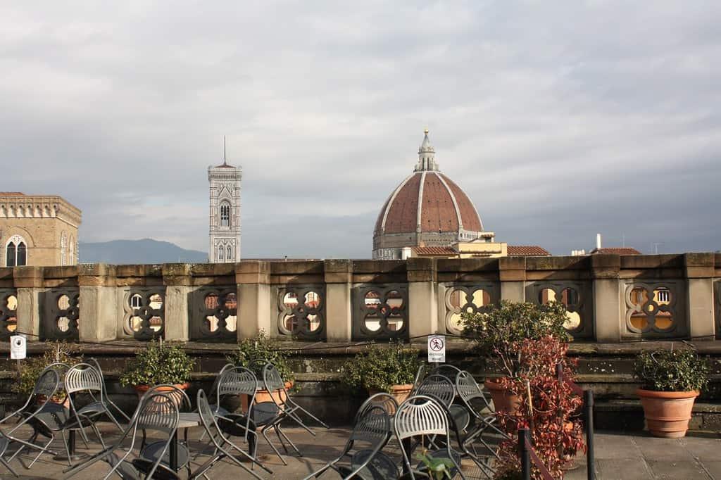 uffizi terrace florence best of italy