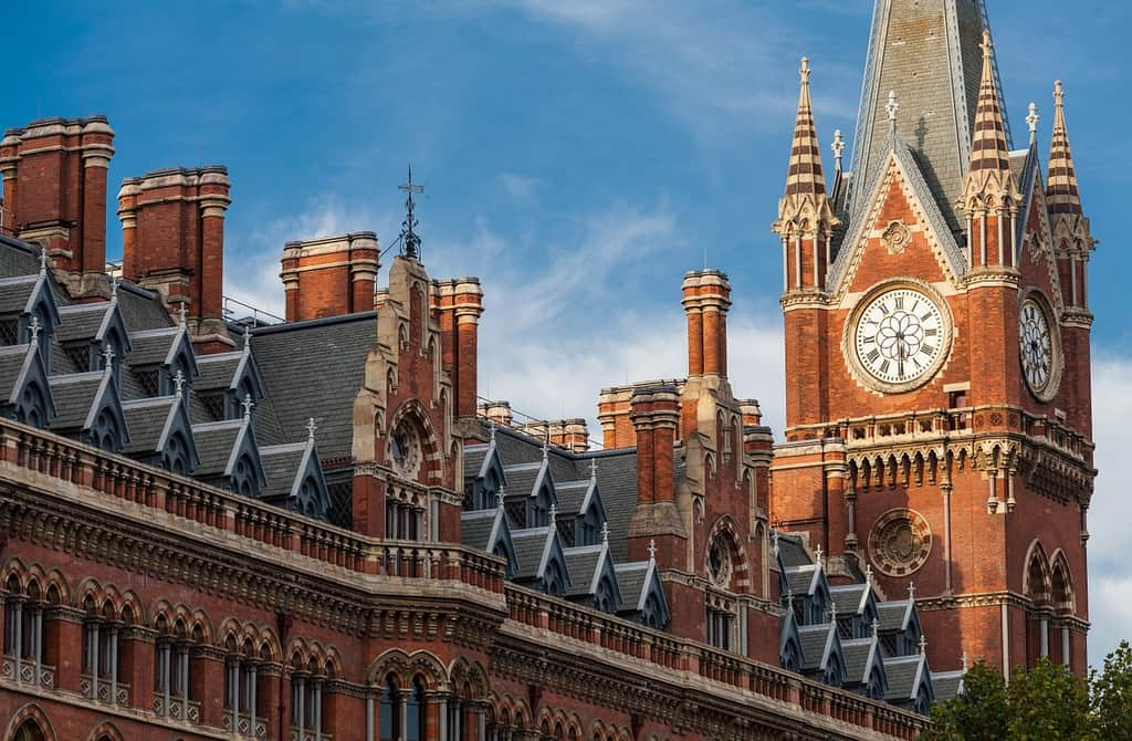 london hotel booking - st pancras station hotel