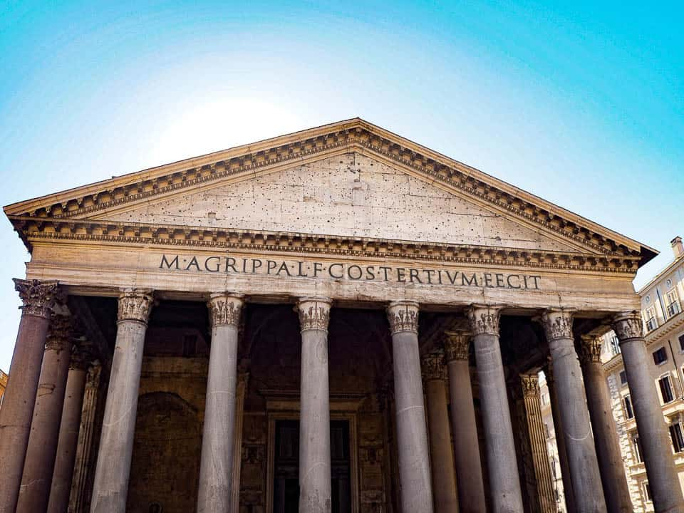 pantheon - 5 nights in rome