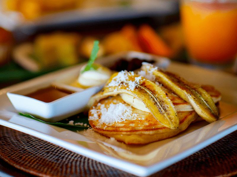 banana pancakes - famous thai food
