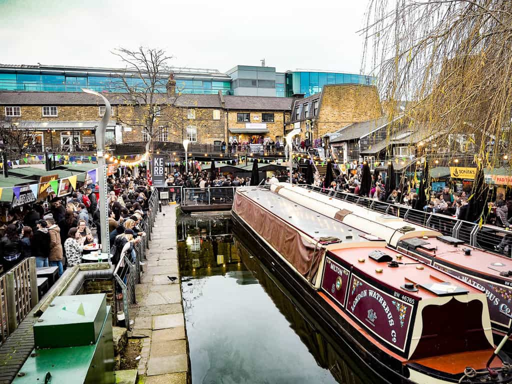 camden lock - things to do in london with teenagers