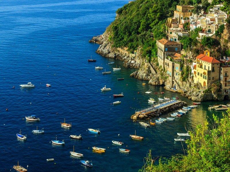 conca dei marini - amalfi coast villas