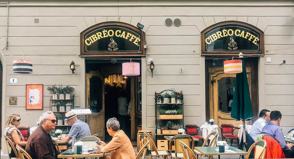 florence cafe near hotels in central florence italy