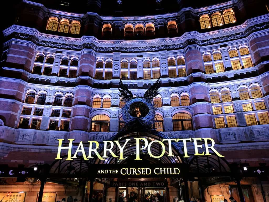 harry potter theatre show