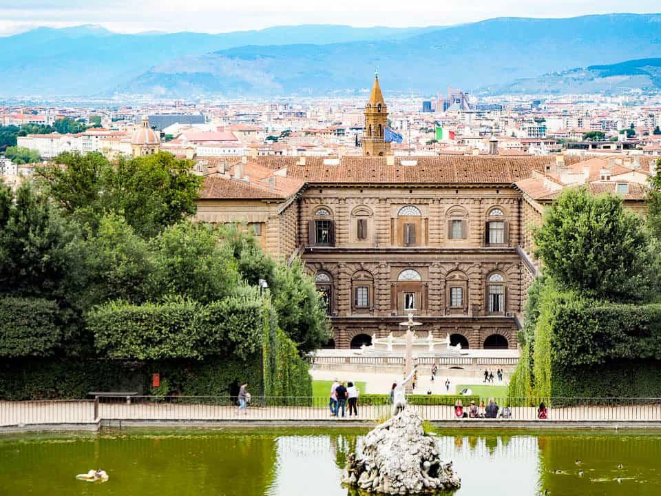 palazzo pitti - accommodation florence italy