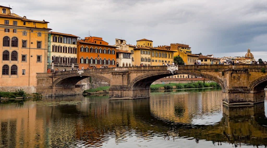 ponte santa trinita - florence attractions