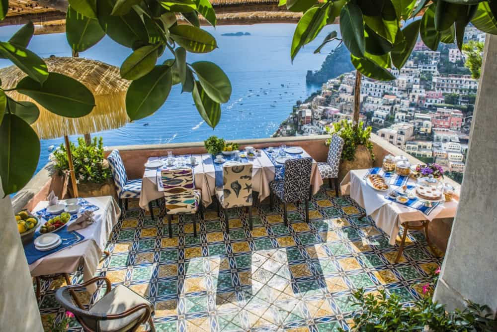 villa for rent positano