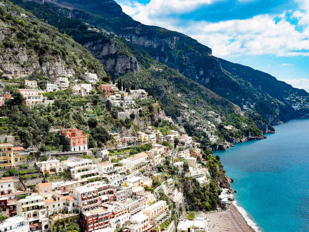 best hotels in positano italy