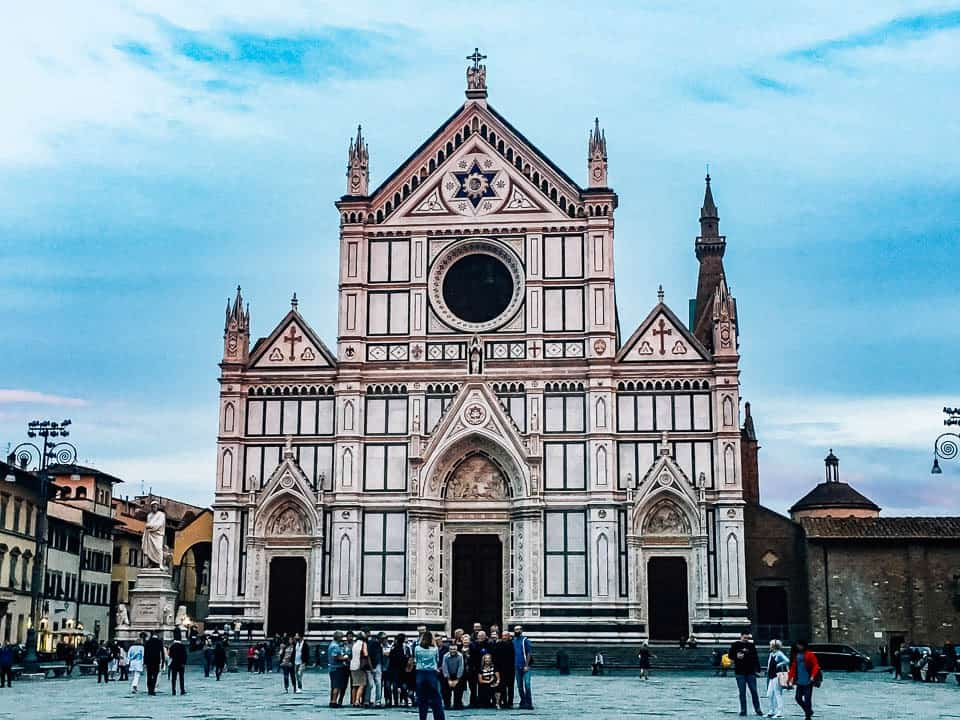 santa croce florence - where to stay in florence italy