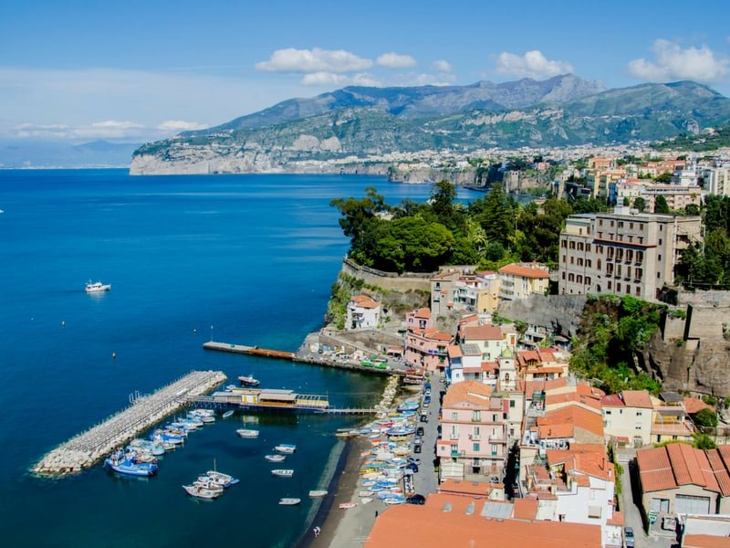 sorrento - places to stay amalfi coast