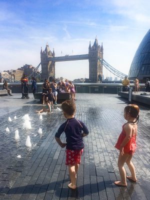 summer in london with kids