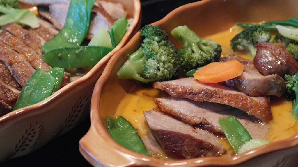 thai curry - thai red curry - thai duck curry