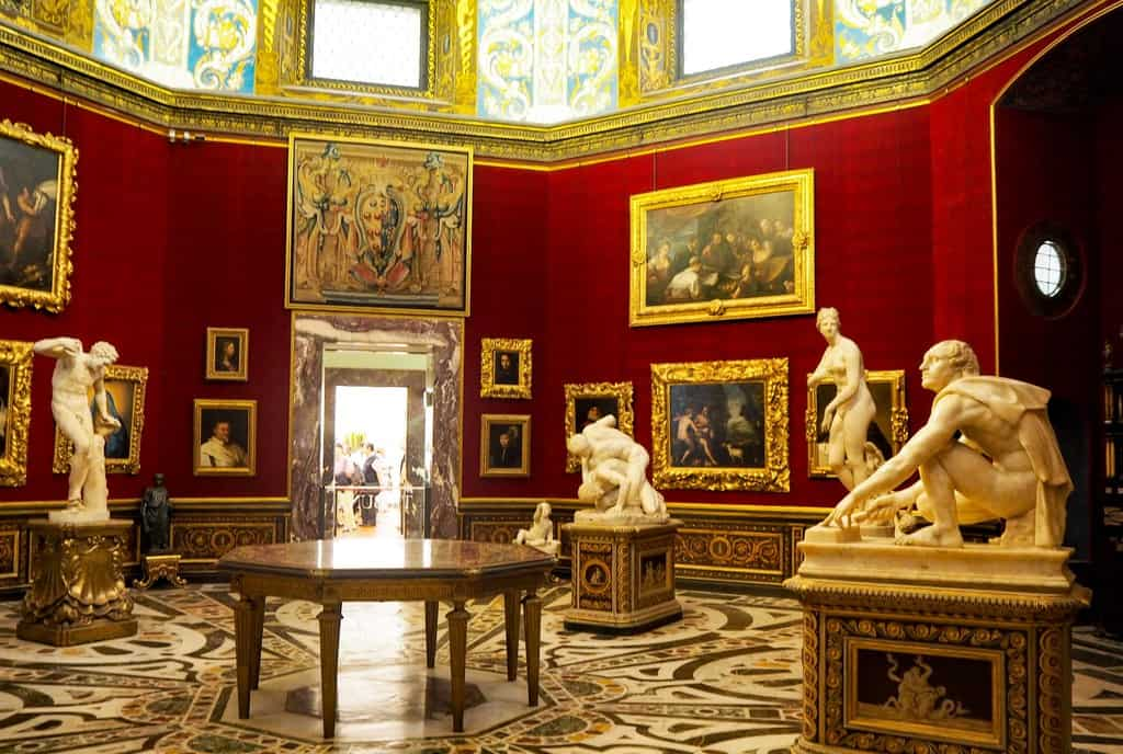 uffizi gallery - places to see in florence italy