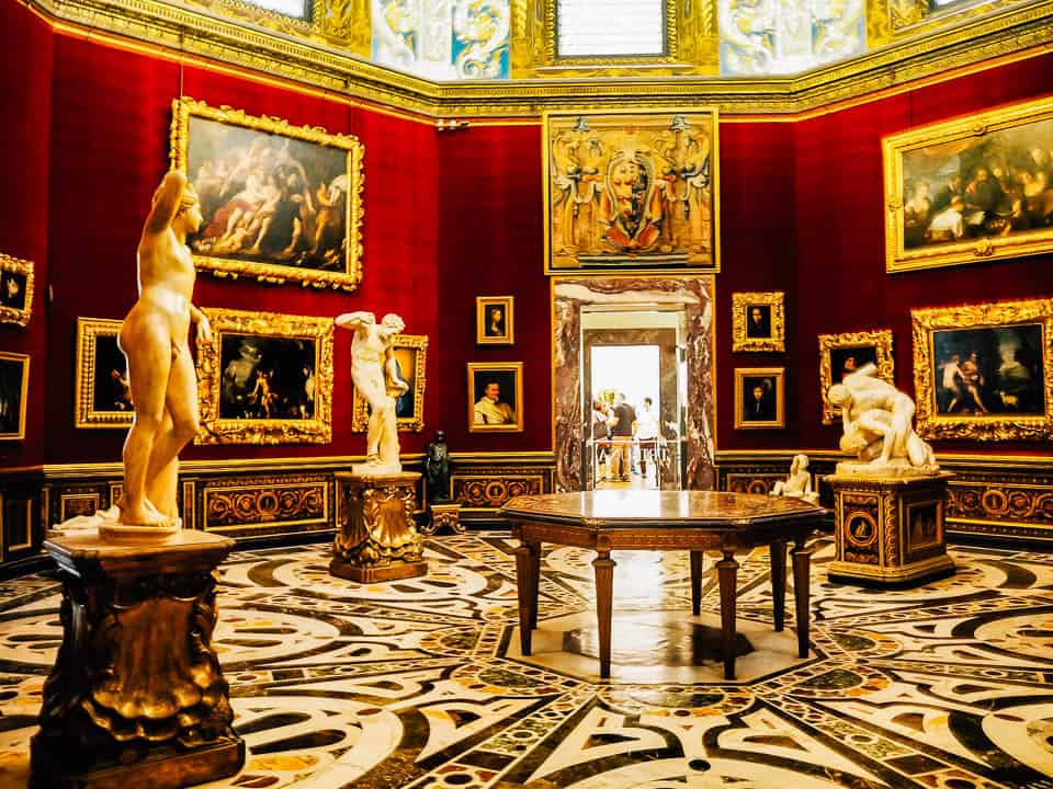 uffizi gallery - hotels in florence italy city center