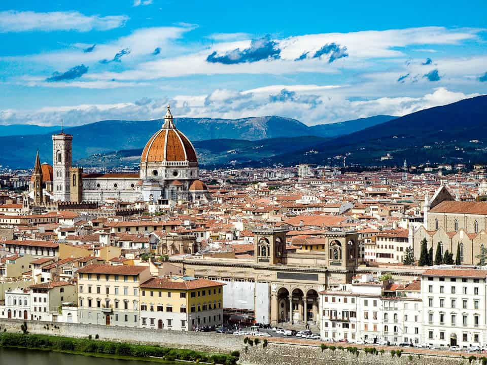 best hotels in florence italy with view from piazzale michelangelo