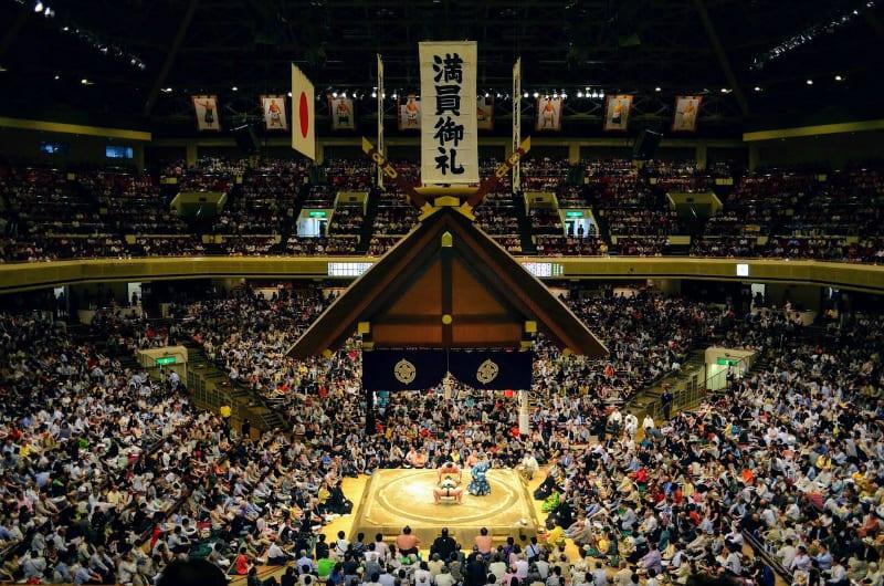 sumo tournament - japan family tours