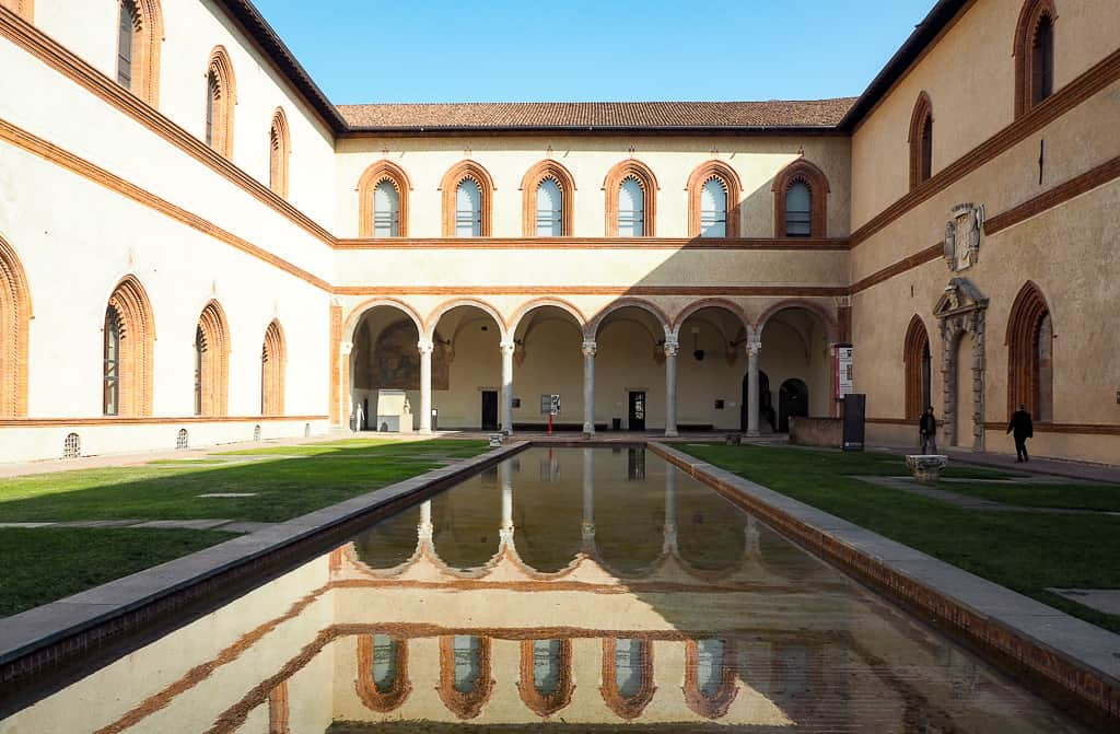 castello sforzesco - where to go in milan