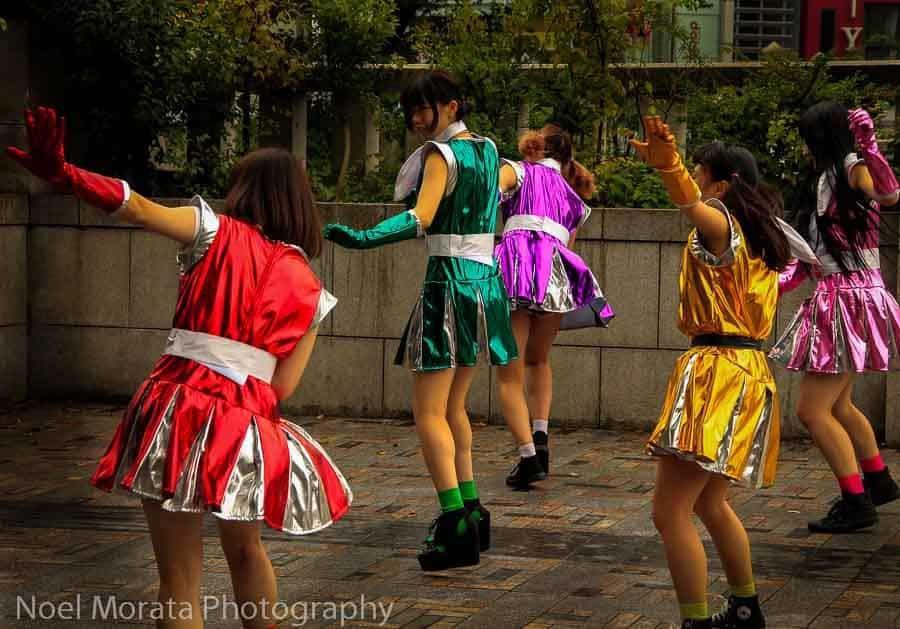 harajuku - japan experiences for kids