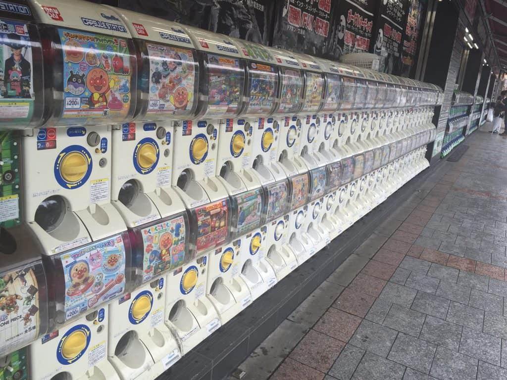 japan vending machines - fun for kids in japan