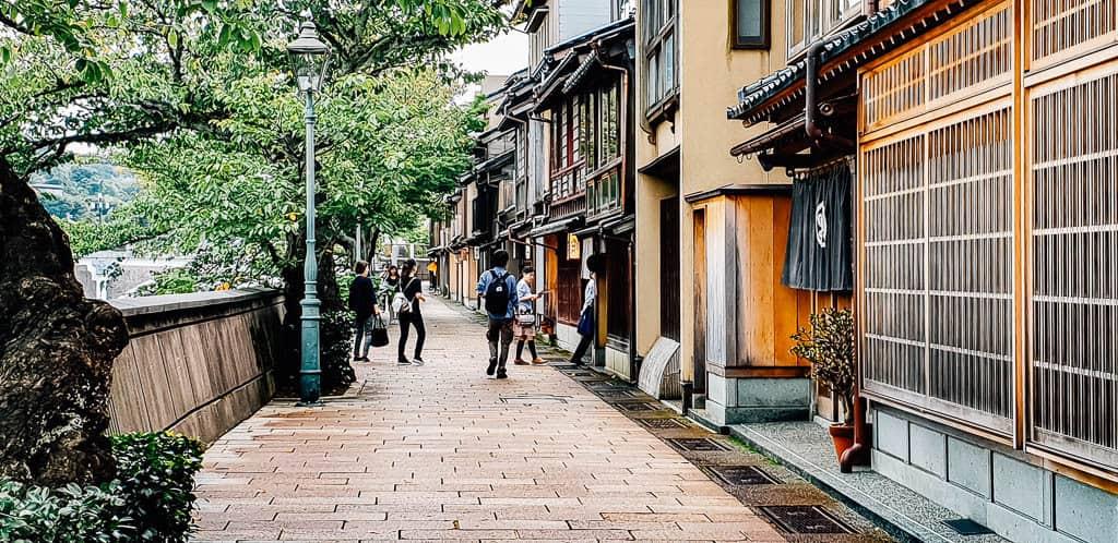 kanazawa entertainment district