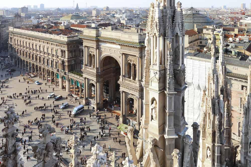 milan duomo roof views - milan sightseeing at its best
