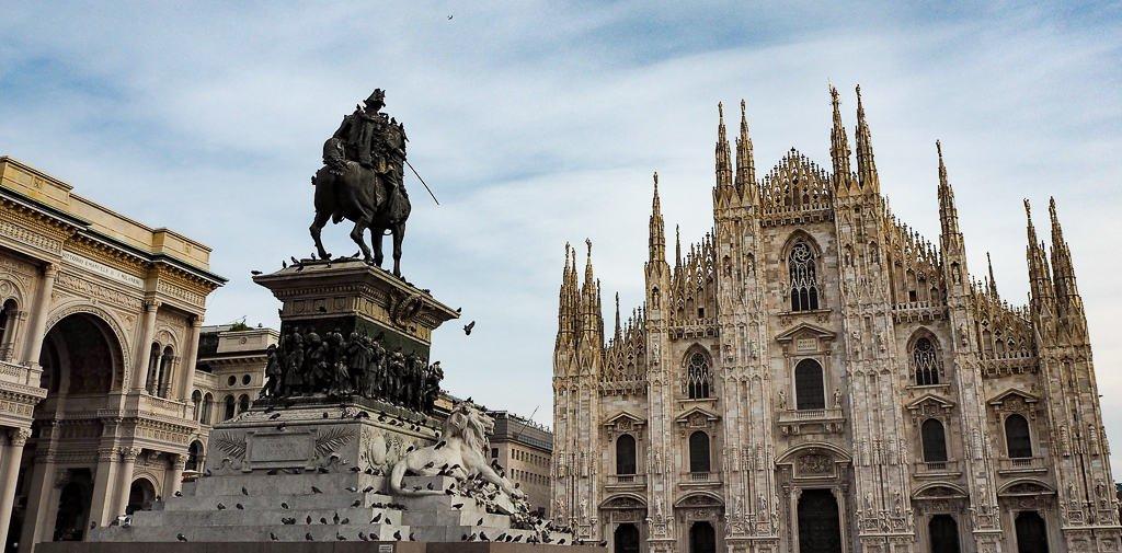 piazza del duomo milan - places to visit in milan italy