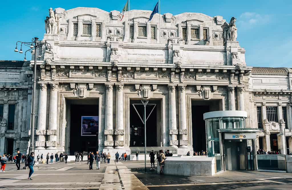 milano centrale - things to do in milan in one day
