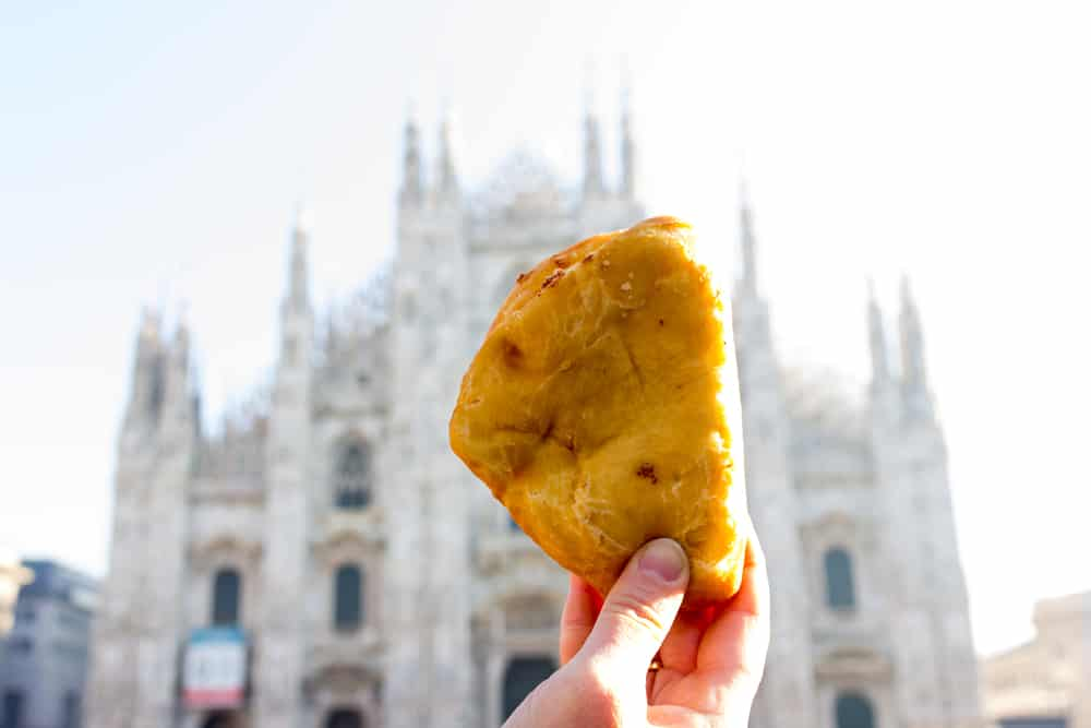 luini panzerotti - best things to eat in milan