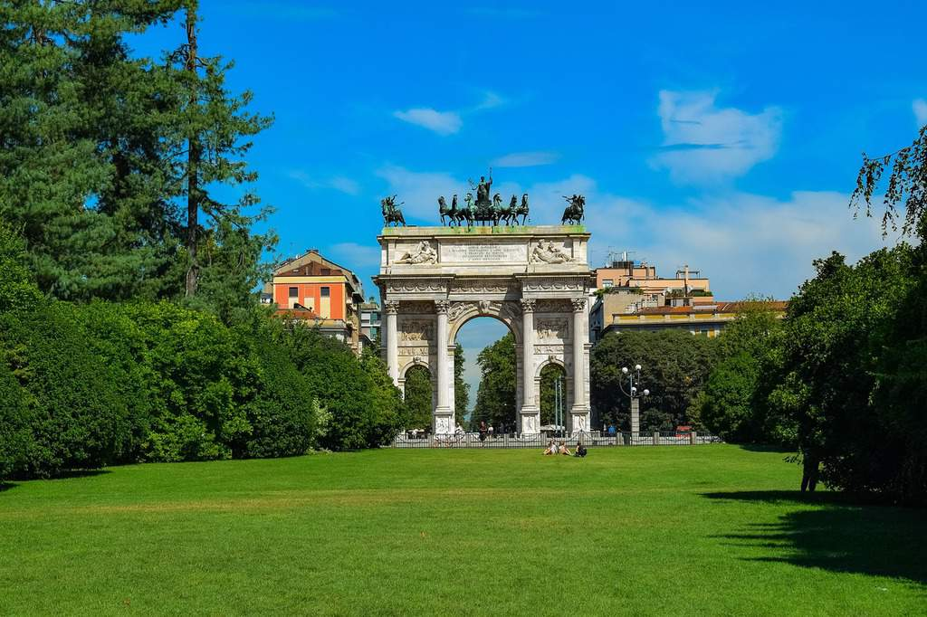 parco sempione - things to see in milan