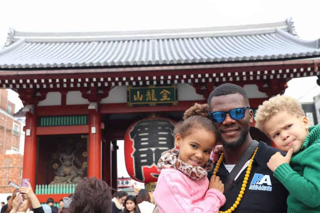 sensoji - japan family holiday itinerary