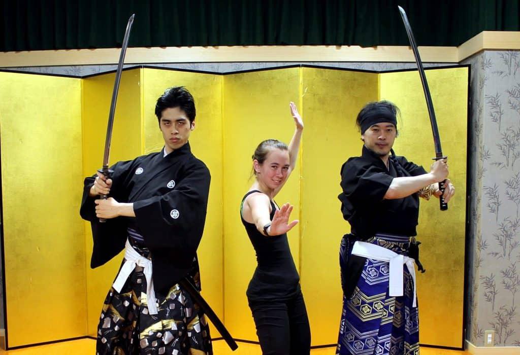 Samurai lessons - best things in japan for kids