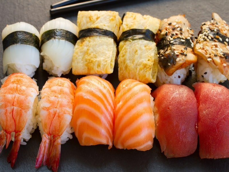 japan sushi with kids