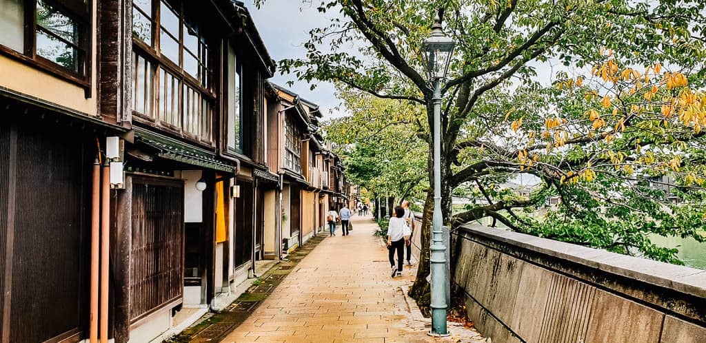 Discover the charming city of Kanazawa in Japan