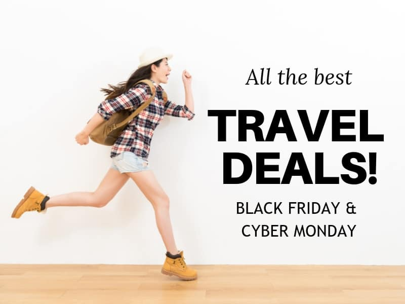best black friday travel deals cyber monday