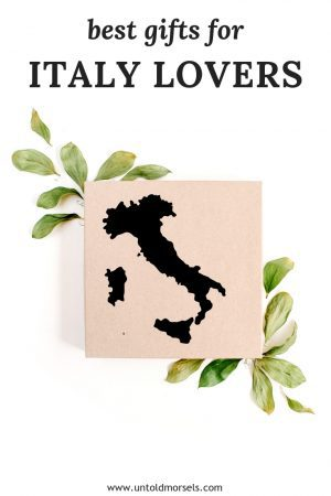 Best gifts for Italy lovers - Italian themed gift guide with ideas and stocking stuffers for people who love Italy