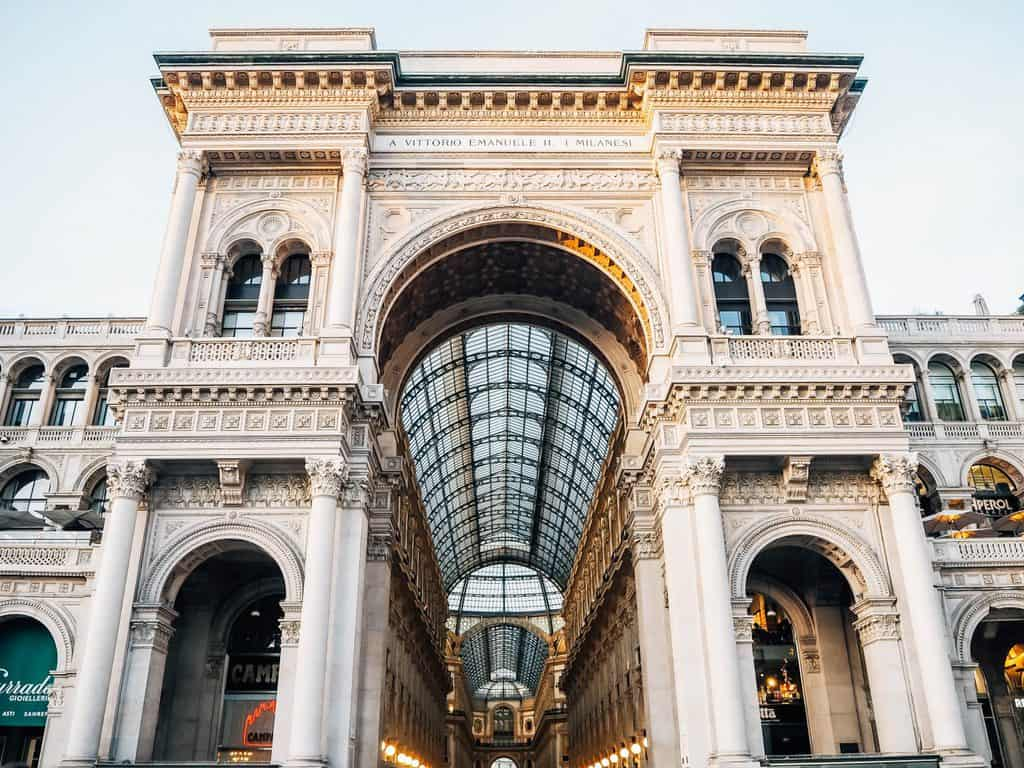 Galleria Vittorio Emanuele II - what to do in milan for 3 days