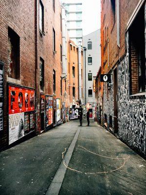 street art laneway melbourne