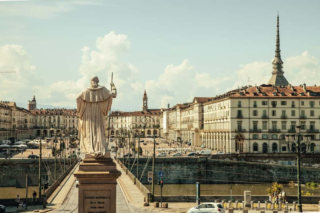 piazza vittorio - turin italy points of interest