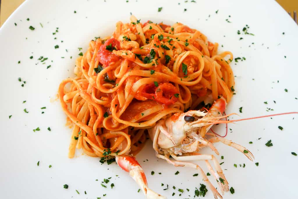 seafood pasta - must do in venice italy