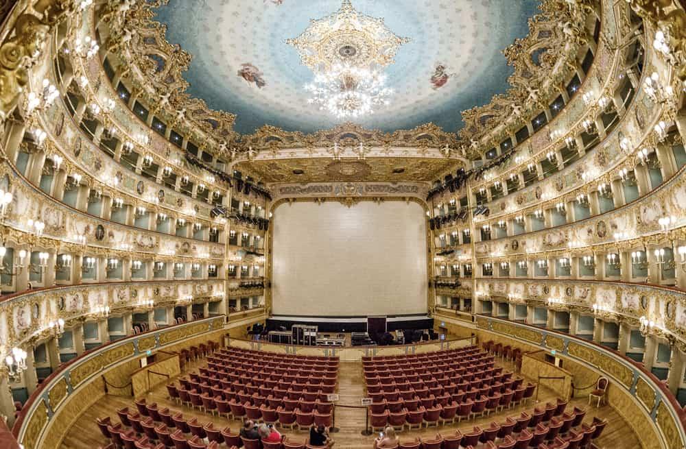 Teatro La Fenice - places to go in venice