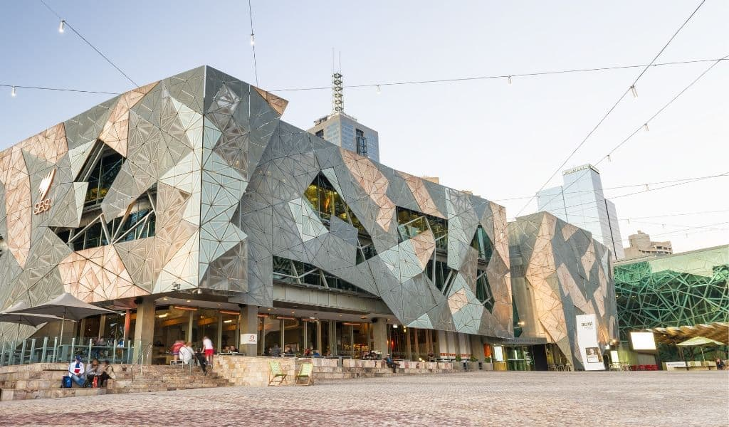 things to see in melbourne - federation square