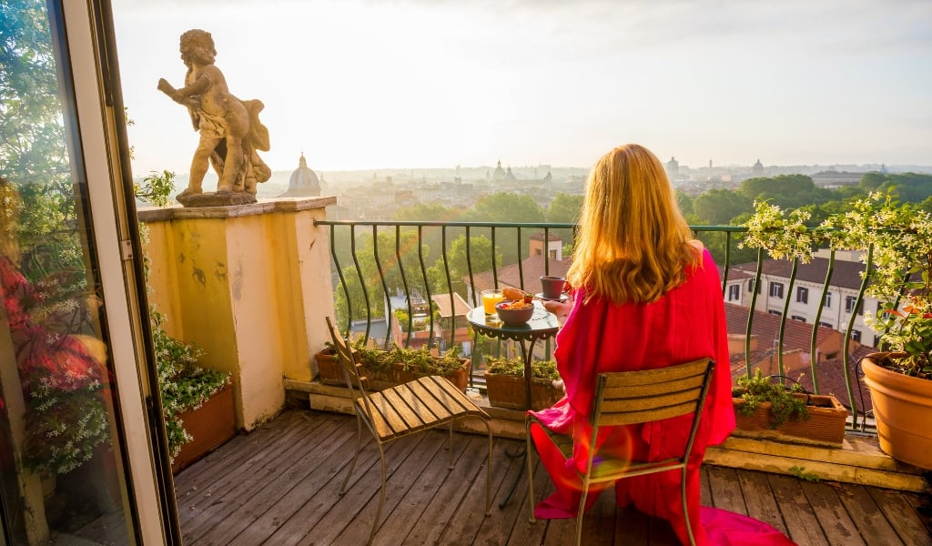 trips to italy accommodation