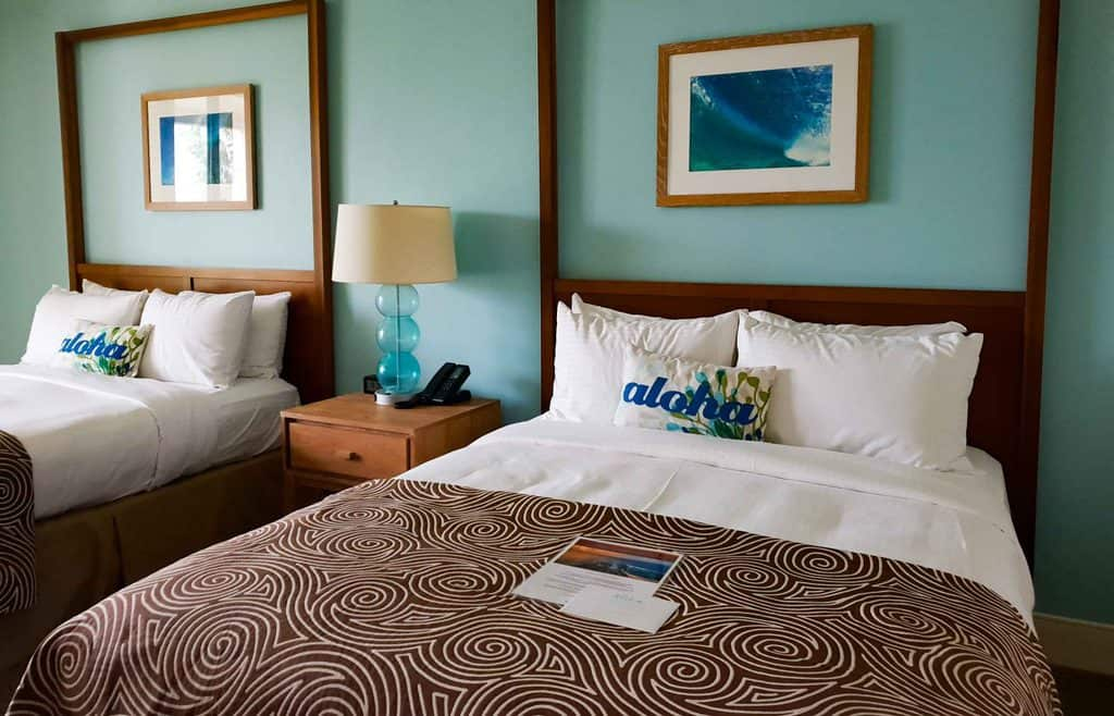 guest room turtle bay resort oahu