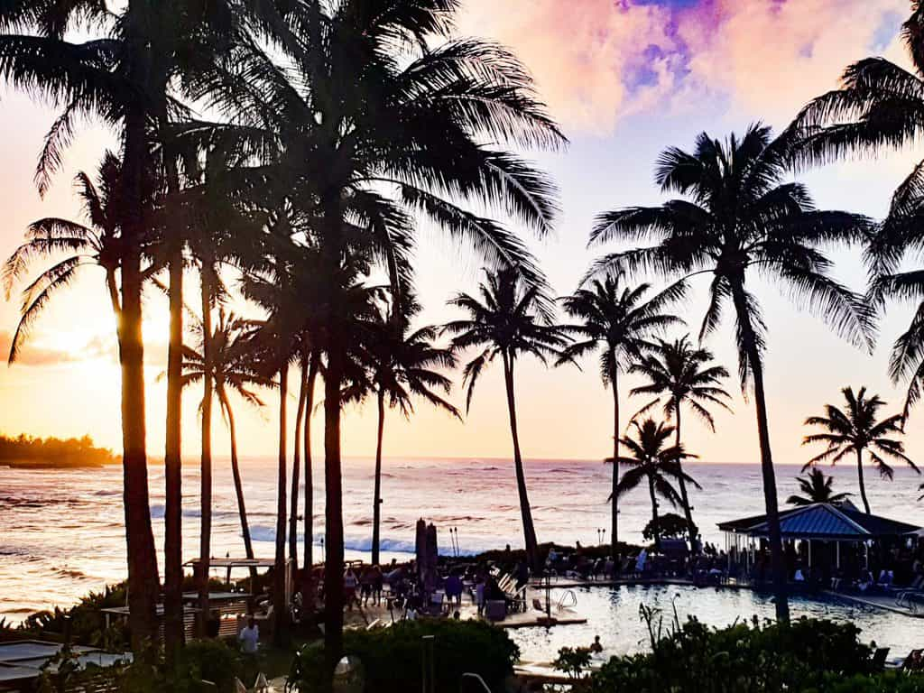 best places to watch sunset north shore oahu