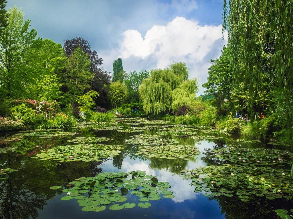visit giverny monets garden paris