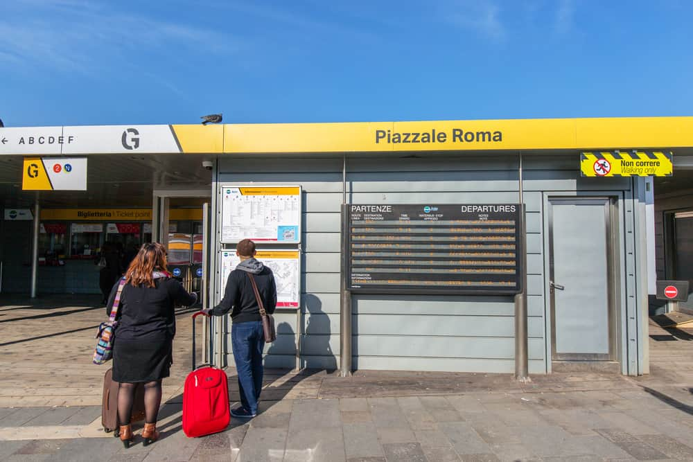venice airport to venice piazzale roma
