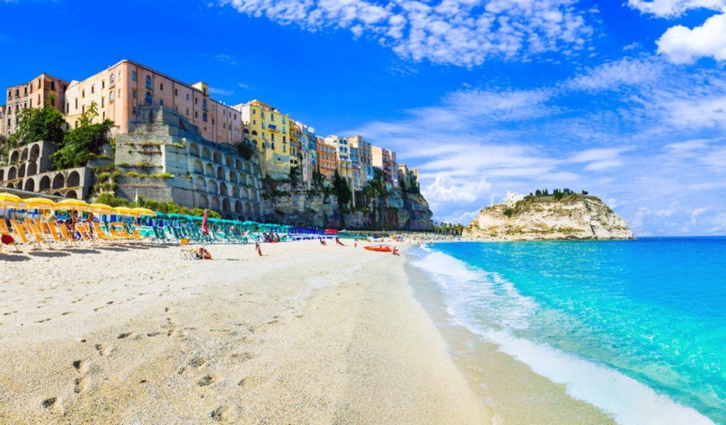 tropea best beaches in calabria