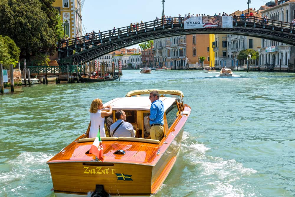 venice water taxi from airport