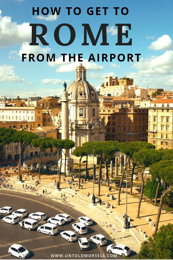 Best airport transfers Rome - how to get to the city from Rome airports
